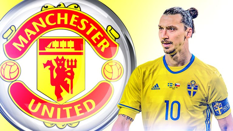 Zlatan Ibrahimovic is set to join Manchester United