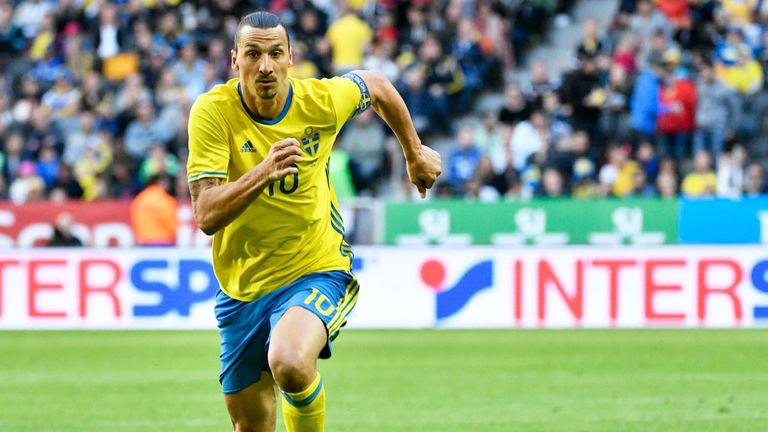 Zlatan Ibrahimovic is considered Sweden's main threat