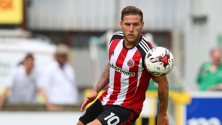 Sheffield United's Billy Sharp has scored five goals in his last three league games