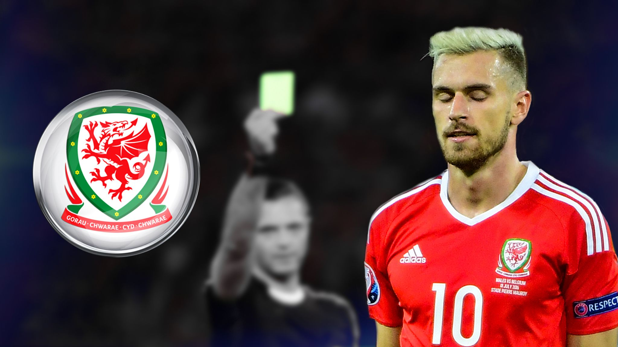 new products 5e188 cc949 How much will Wales miss Aaron Ramsey against Portugal ...