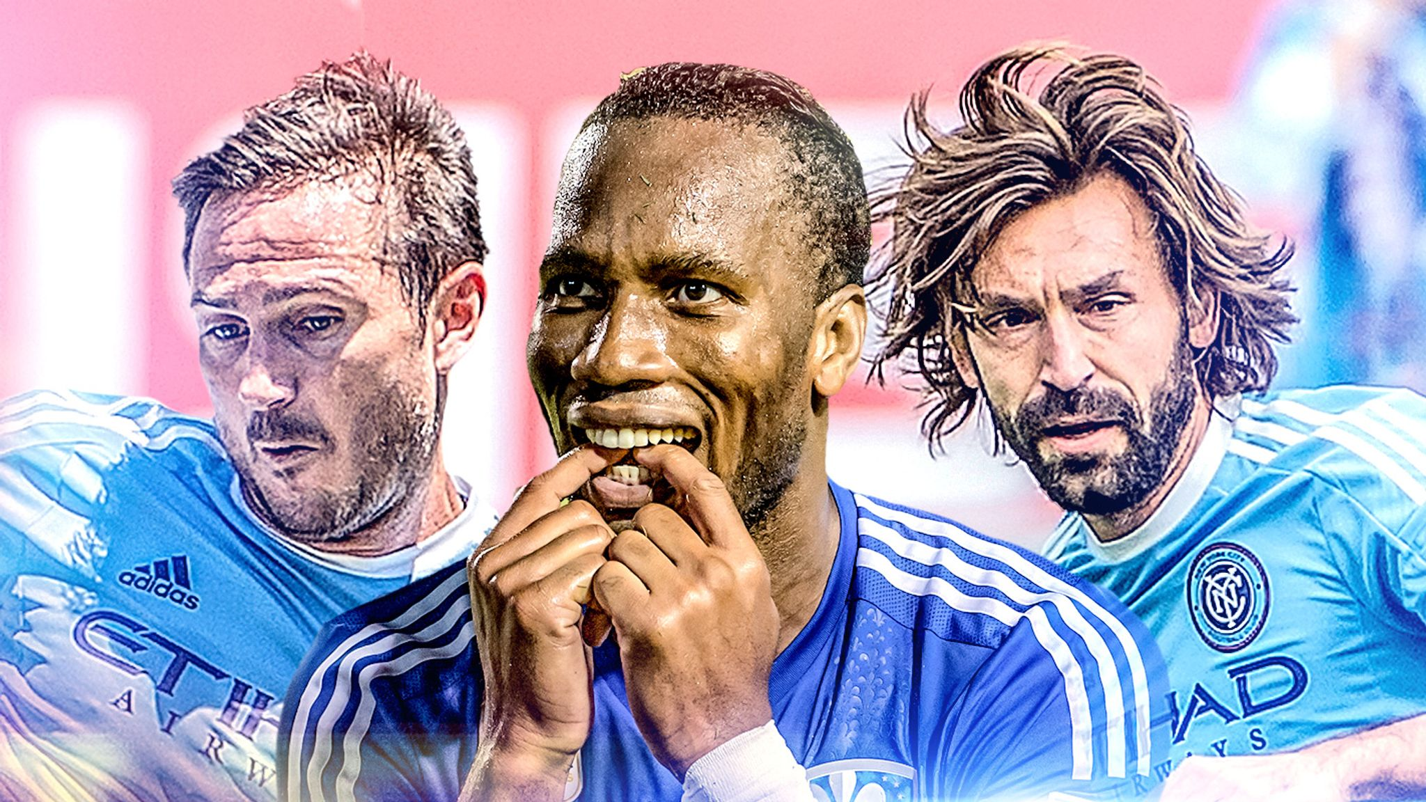 MLS play-offs: Steven Gerrard and Frank Lampard out, Didier Drogba