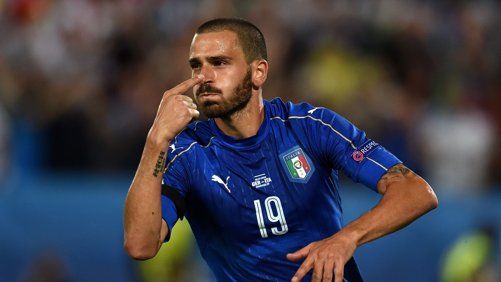 Who are the best 5 players in the Italian Team - Euro 2020: Bonnucci