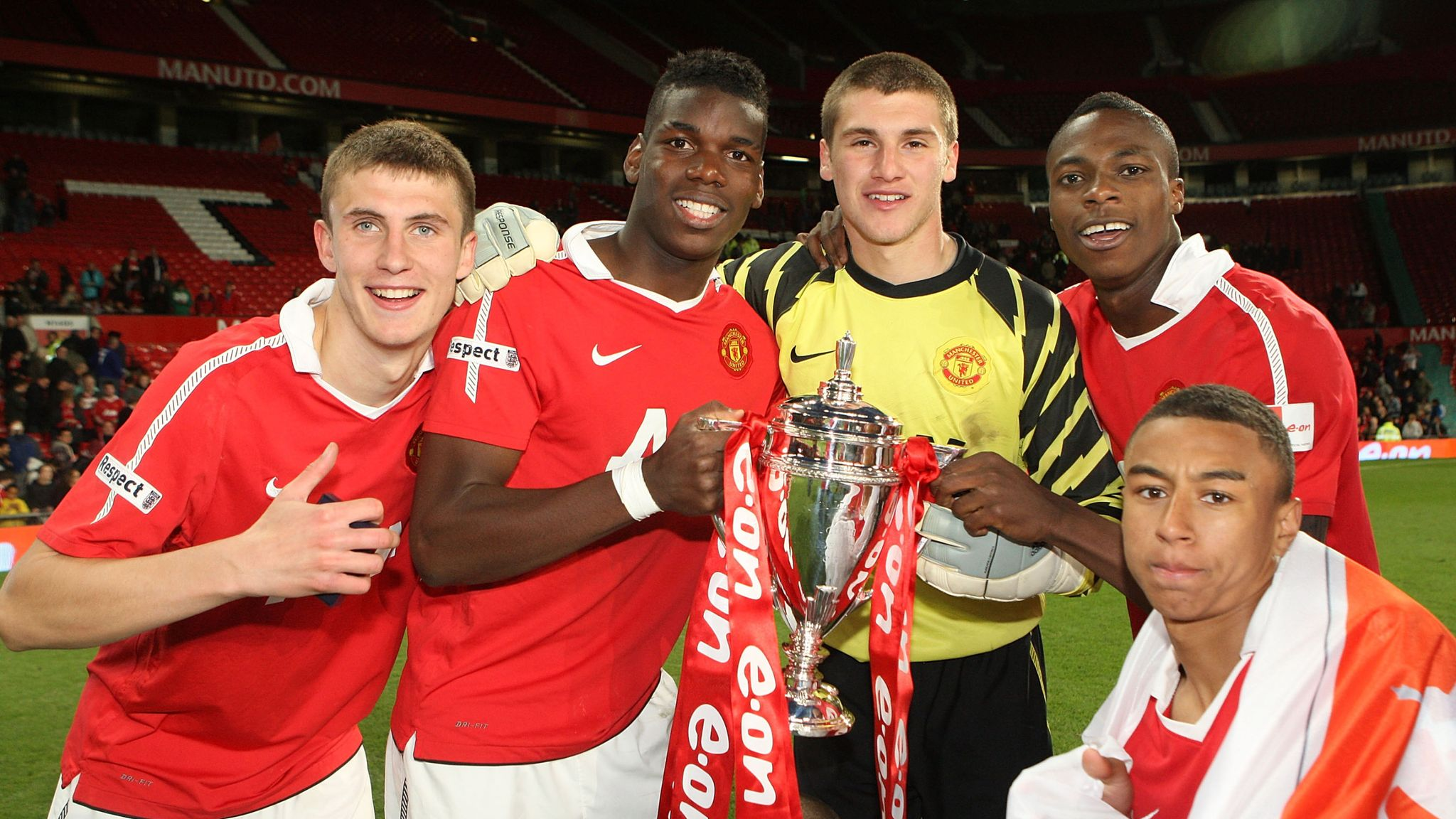 Paul Pogba To Manchester United Inside His Early Years At Old Trafford Football News Sky Sports