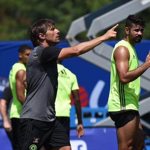 Conte unsure on Costa future