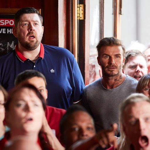 WATCH: Beckham's Sky Sports ad