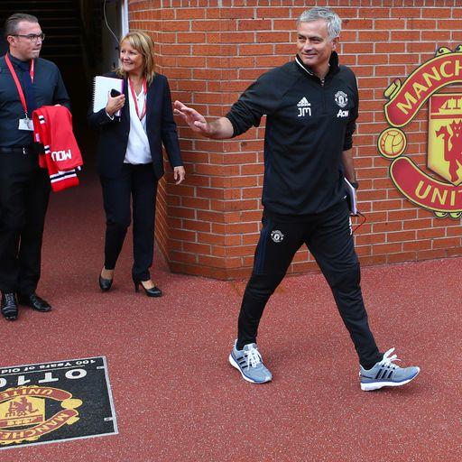 Jose's Man Utd XI?