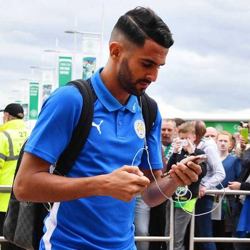 'Arsenal link distracts Mahrez'