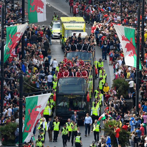 How Wales celebrated