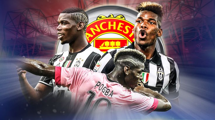 Pogba to Manchester United graphic 21/07/2016