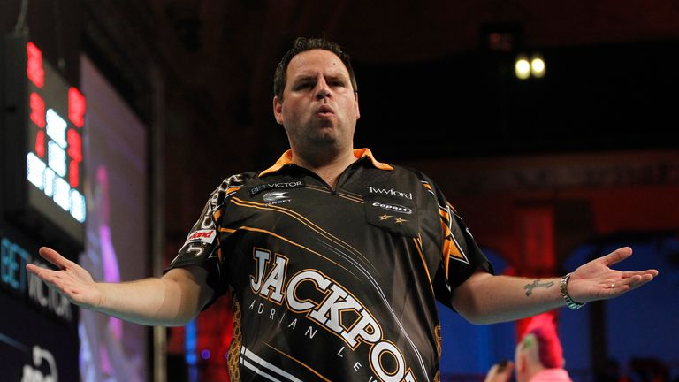 Adrian Lewis won the title in 2011 and 2012 and was runner-up last year