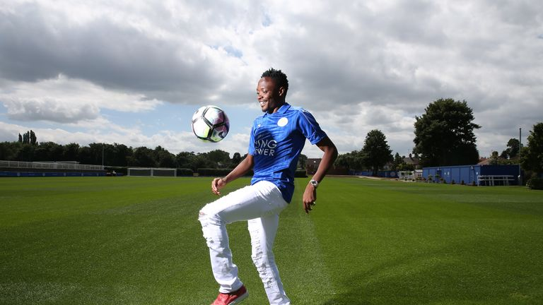 Leicester have signed Ahmed Musa from CSKA Moscow