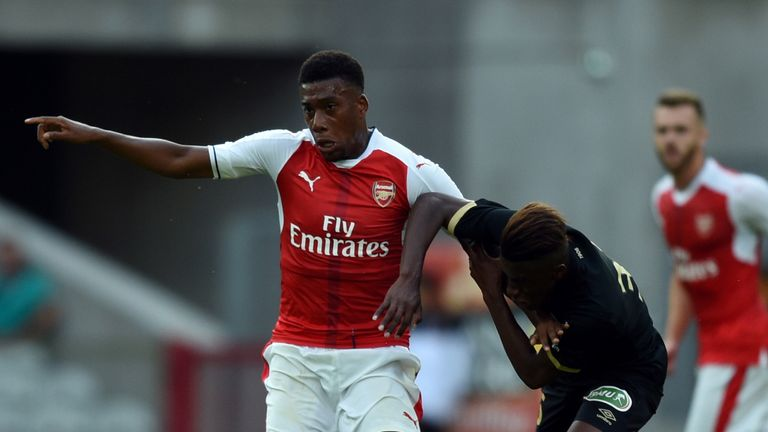 Alex Iwobi has been in good form for Arsenal in four Premier League starts