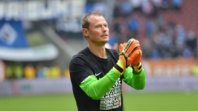 Veteran keeper Alex Manninger finished a stint with Augsburg at the end of last season