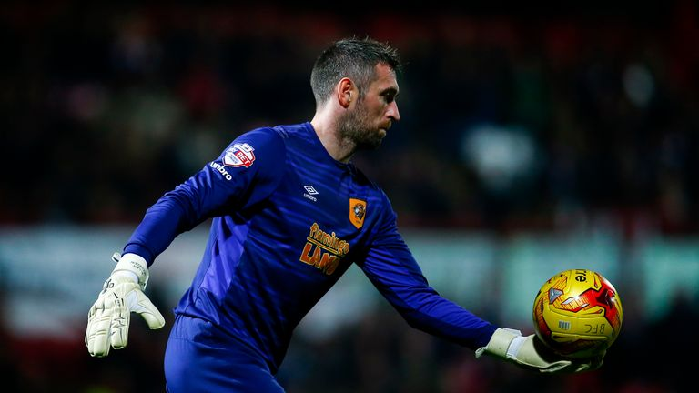 Hull goalkeeper Allan McGregor could be out for up to six months
