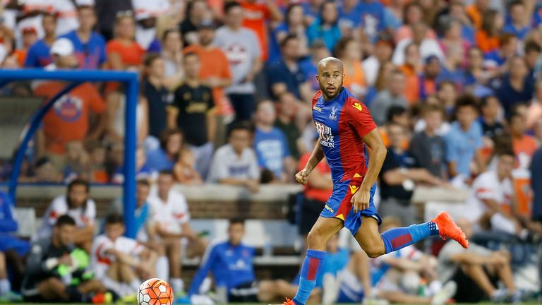 Andros Townsend moved from Newcastle to Crystal Palace in the summer