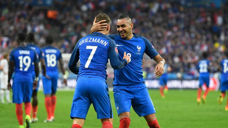 Antoine Griezmann and Dimitri Payet shortlisted for Player of the tournament
