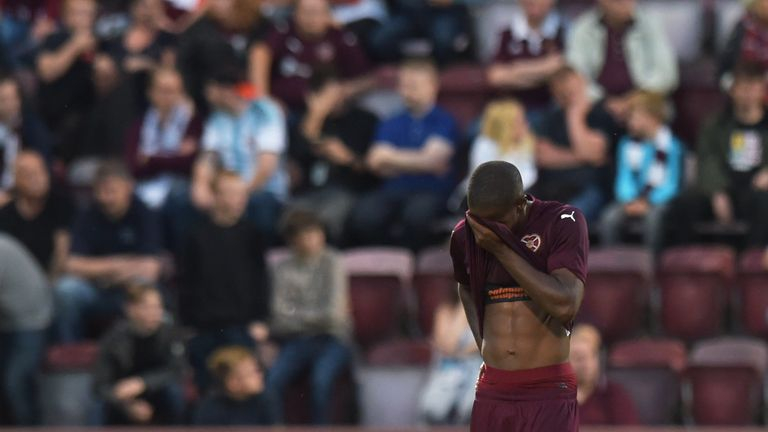 Arnaud Djoum set up a late goal for Connor Salmon but it was not enough