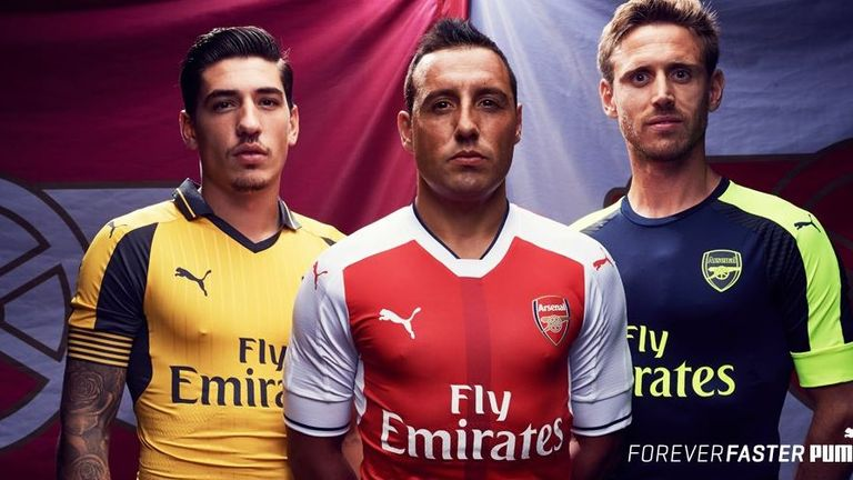 new styles 905d0 00272 Arsenal release away and third kit for 2016/17 season ...
