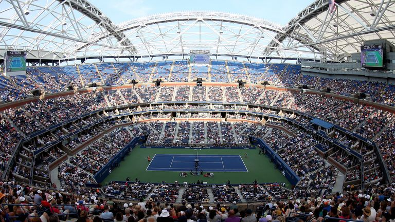 US Open: Order of Play