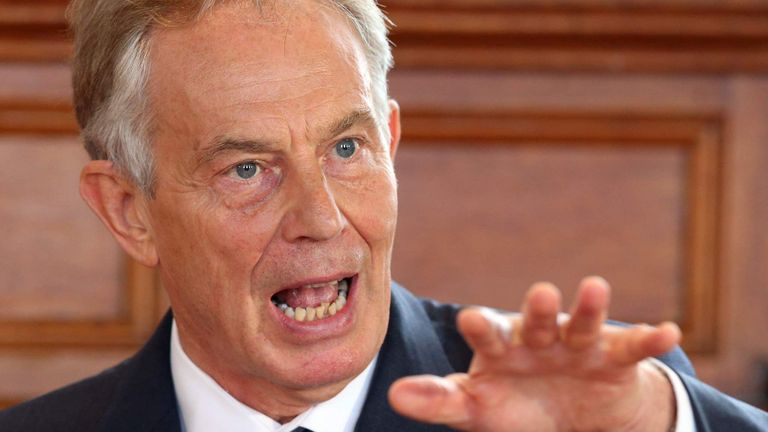 Former Prime Minister Tony Blair endorsed the idea of pay equality at Wimbledon