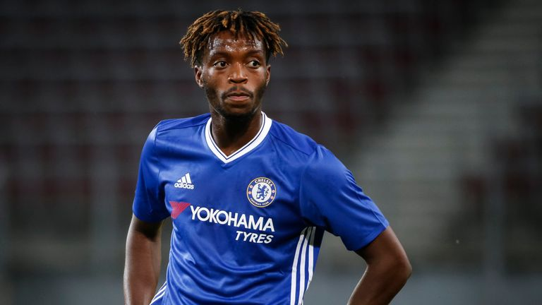 VELDEN, AUSTRIA - JULY 20: Nathaniel Chalobah of Chelsea looks on during the friendly match between WAC RZ Pellets and Chelsea F.C. at Worthersee Stadion o