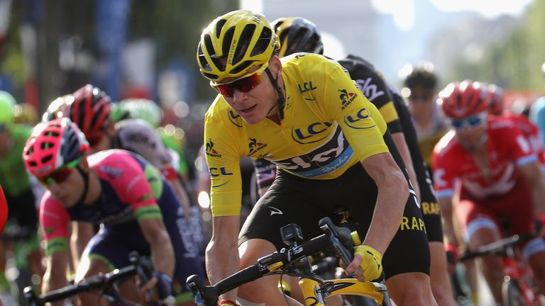 Froome is now targeting the Olympic road race and time trial