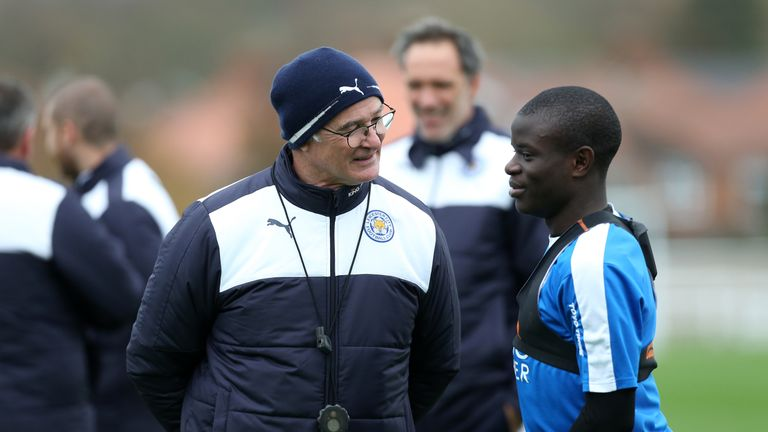 Claudio Ranieri says he would understand if N'Golo Kante decided to leave Leicester this summer but would like him to stay at the club