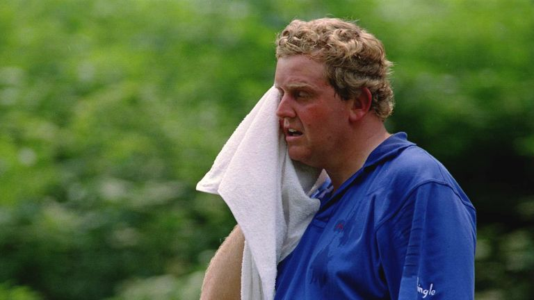 The Scot struggled in the heat at Oakmont in 1994