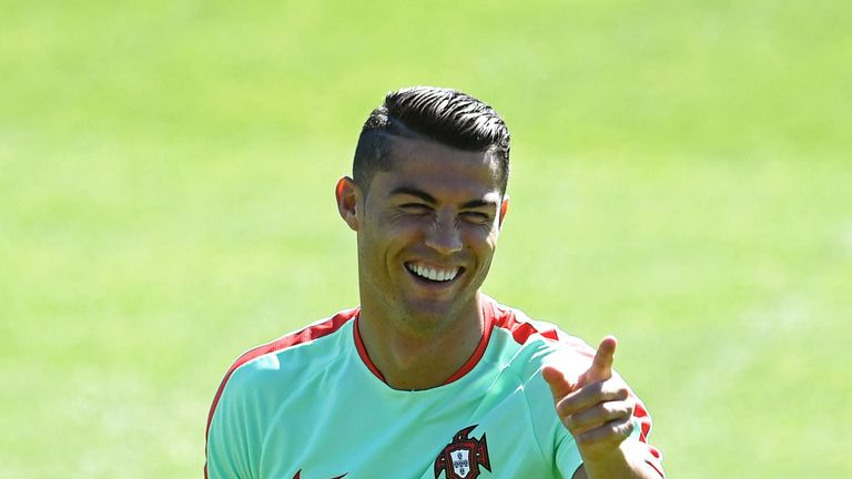 Real Madrid forward Cristiano Ronaldo is back in the Portugal squad after recovering from i njury