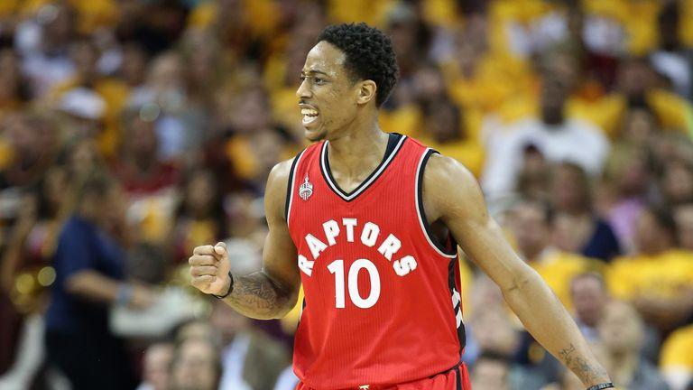 DeMar DeRozan has re-signed with the Toronto Raptors