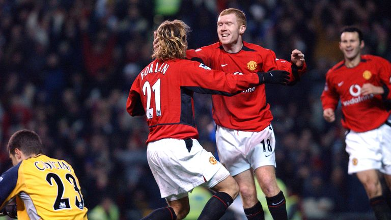 Diego Forlan says Paul Scholes was the best player he ever played with