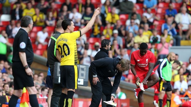 Assistant referees or fourth officials will be able to check players before they return to the pitch