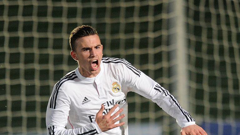 Borja Mayoral featured for Real Madrid six times last season