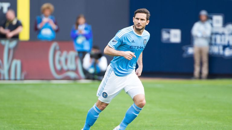 Lampard has helped New York City reach the play-offs for the first time in their history