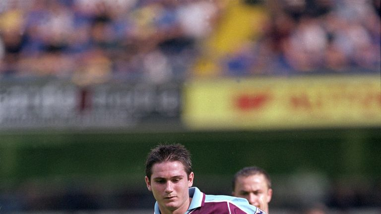 Frank Lampard was just one of Tony Carr's academy stars that played for England