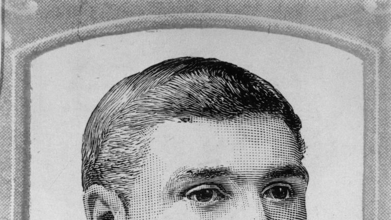 English bowler George Lohmann died in 1901 having taken 100 Test wickets in 16 matches