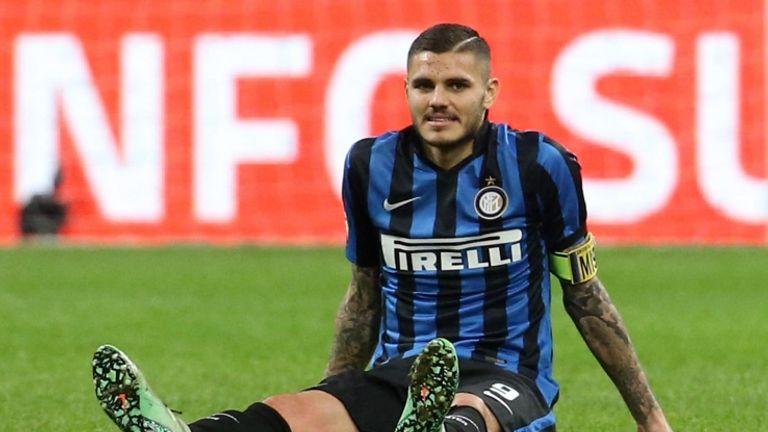Mauro Icardi, attaccante argentino dell'Inter