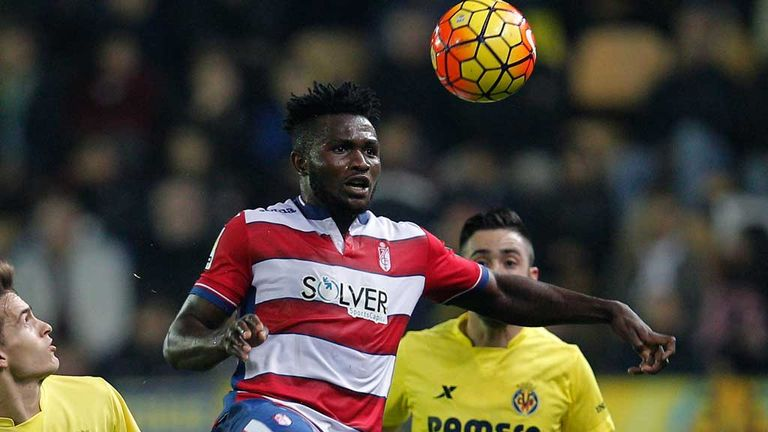 Isaac Success in action for Granada