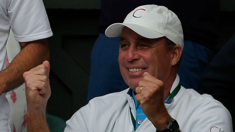 Ivan Lendl watched proudly as Andy Murray won his second Wimbledon title