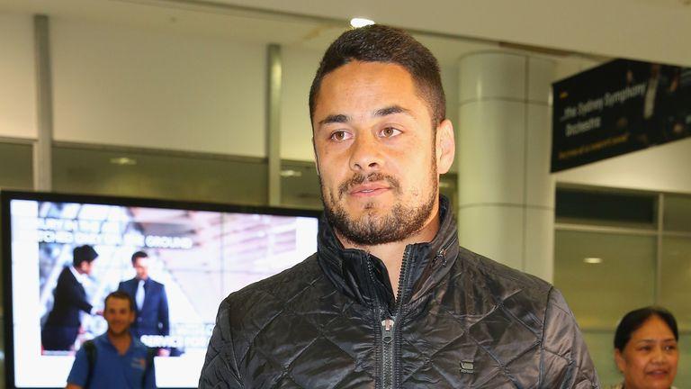 Jarryd Hayne has been axed from Fiji's 7s squad