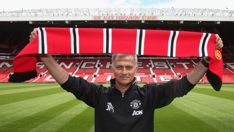 <<enter caption here>> at Old Trafford on July 5, 2016 in Manchester, England.