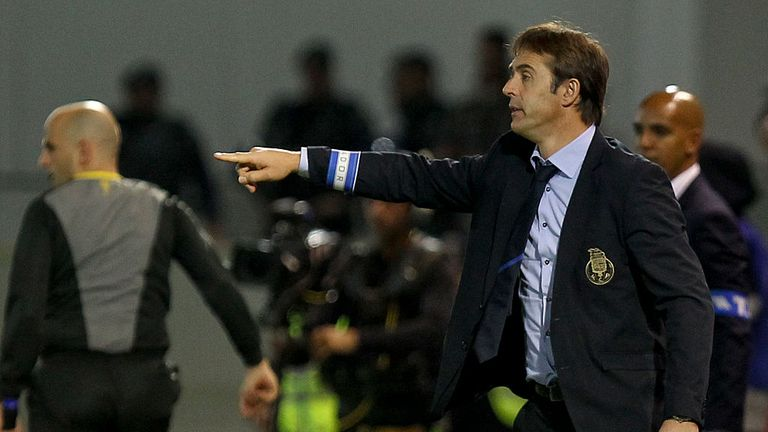 Lopetegui was in charge at Porto last season