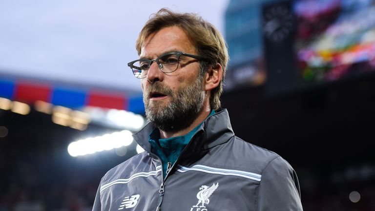 Klopp offered updates on transfers and injuries ahead of this weekend's games with Mainz and Barcelona