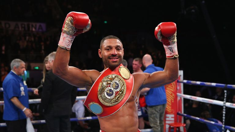 Kell Brook is preparing to tackle GGG at the O2 in September