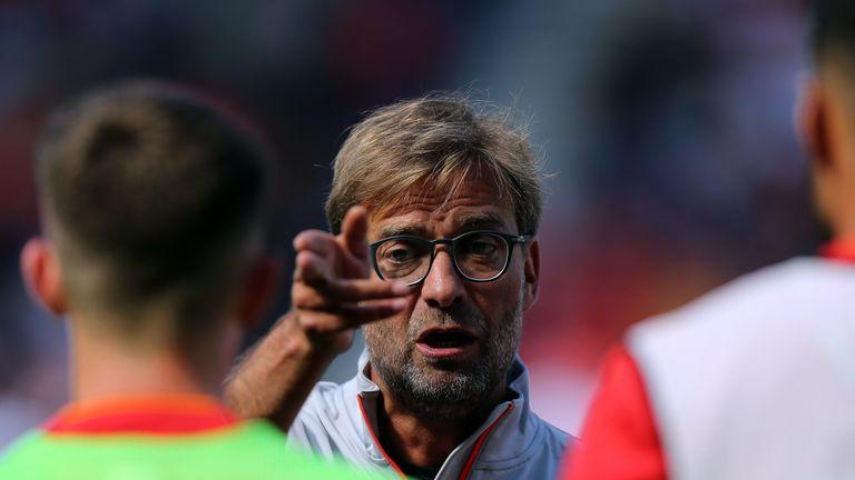 Jurgen Klopp really enjoyed Liverpool's performance
