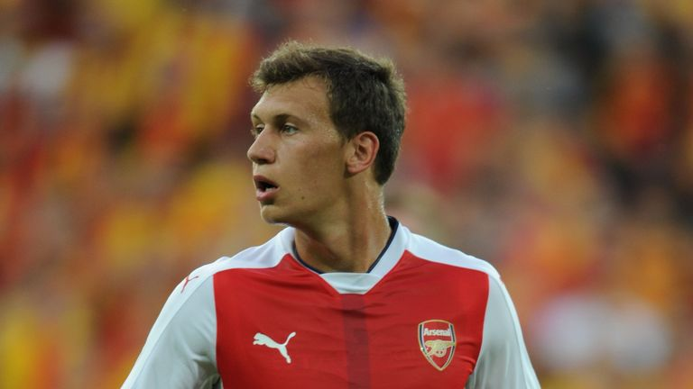 Krystian Bielik signed from Legia Warsaw in January 2015