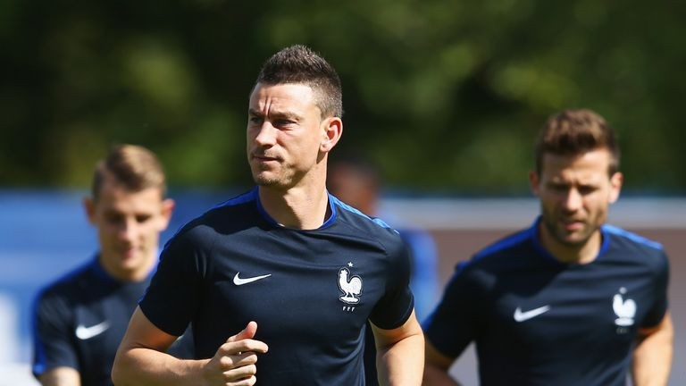 Laurent Koscielny was in action for France on Friday