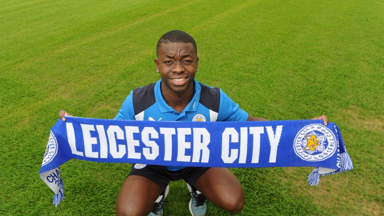 Leicester City announce the signing of Nampalys Mendy at Belvoir Drive Training Complex, 3 July 2016