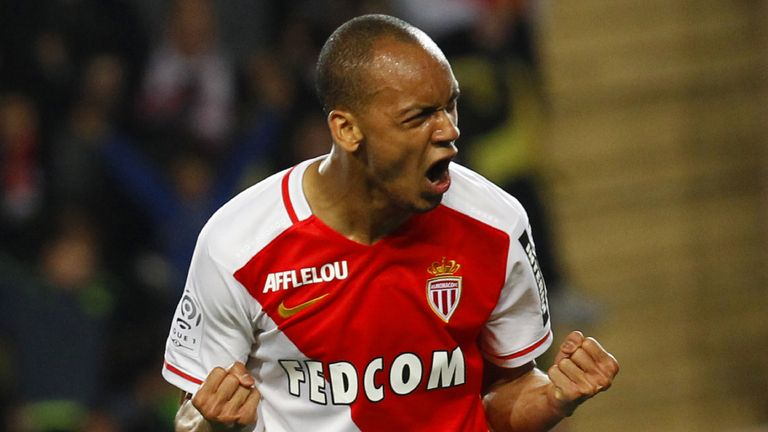 Monaco's Brazilian defender Fabinho joined the club from Rio Ave
