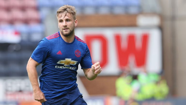 Luke Shaw came through the Southampton academy before moving to Man Utd